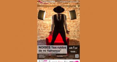 """El dinamismo del flamenco en NOISES """"los ruidos de mi flamenco"""""""