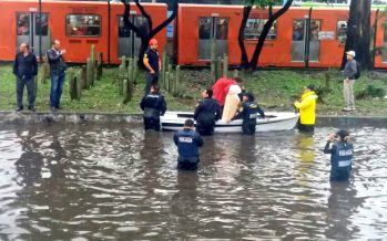 Tiene CDMX 136 puntos de inundaciones recurrentes