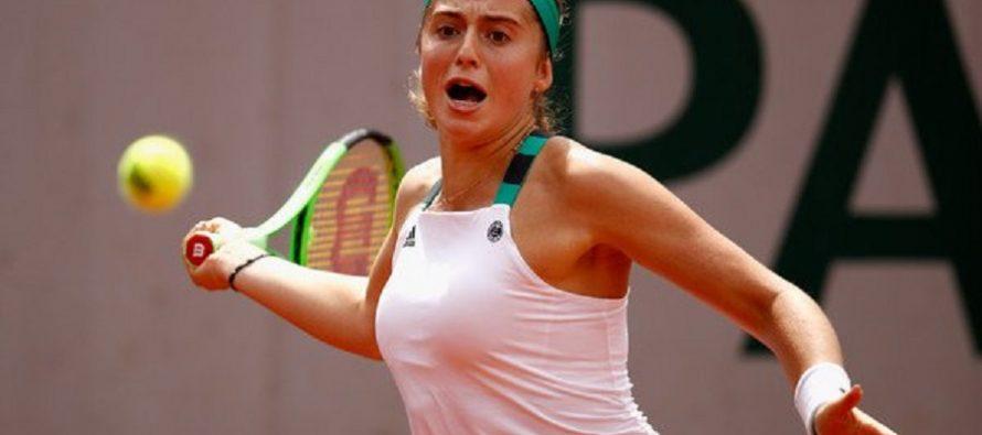 Ostapenko va a semifinales tras ganar a Wozniacki en el Roland Garros