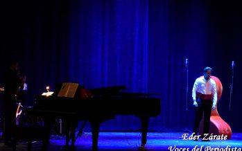 Todo un éxito la presentación de Morganna Love en el Teatro de la Ciudad Esperanza Iris