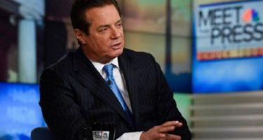 Investigan a ex jefe de campaña de Trump por corrupción