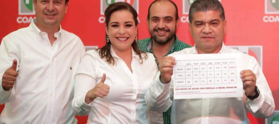 PREP pone al PRI 1.5 puntos arriba del PAN en Coahuila