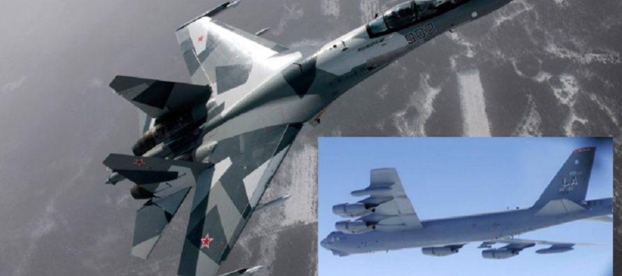 Caza ruso intercepta a bombardero B-52 estadunidense sobre el mar Báltico