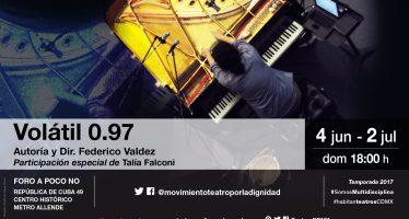 Volátil 0.97, experiencia sensorial y emocional a través del sonido y la escena
