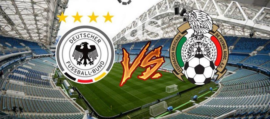 Alemania golea a México 4-1; lo deja fuera de la Confederaciones