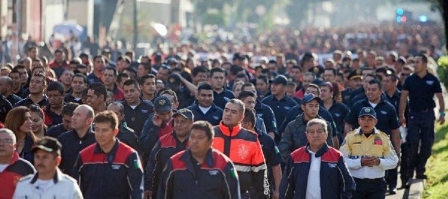 Queda conjurada la huelga de bomberos en la Ciudad de México