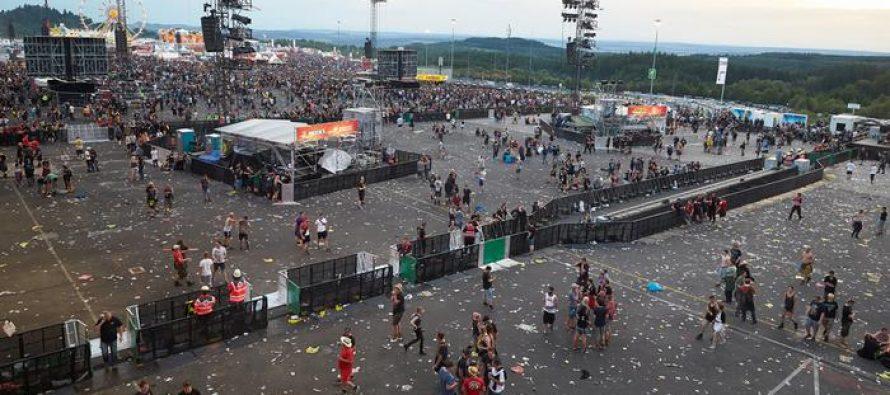 Festival 'Rock am Ring' en Alemania es cancelado ante amenaza terrorista