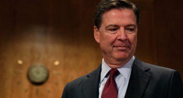 Que Trump mintió sobre desempeño y su persona en el interior del FBI, dice Comey al Senado