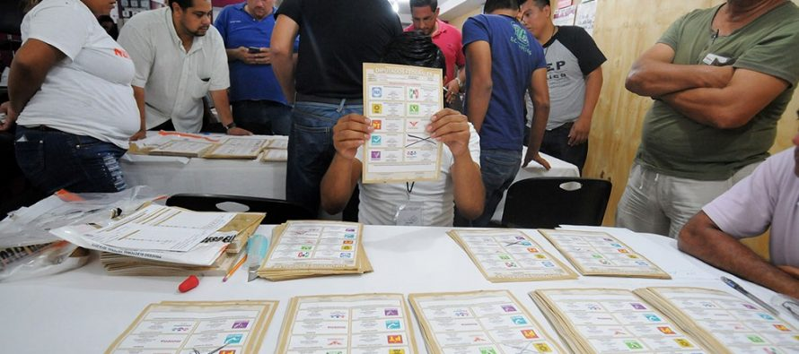 PREP ve mayor ventaja a coalición PAN-PRD  en 112 municipios de Veracruz