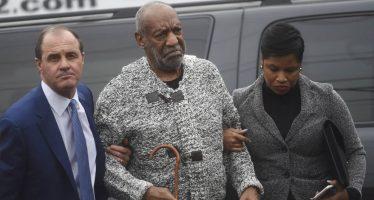 Nulifican juicio contra Bill Cosby por abuso sexual