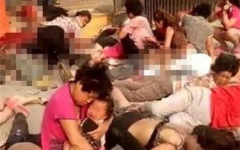 Explosión en guardería de China causa al menos siete muertos; hay 66 heridos