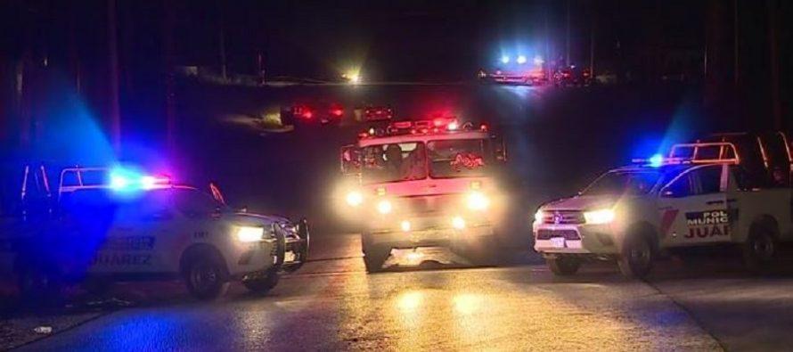 Incendio en termoeléctrica deja sin energía a 30 mil usuarios en Juárez, NL