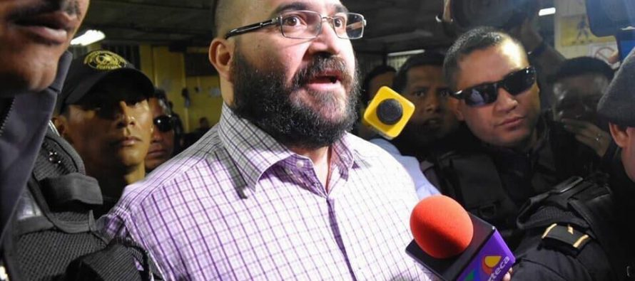Guatemala fijará la fecha de entrega de Javier Duarte