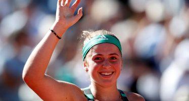Jelena Ostapenko gana el Roland Garros tras imponerse a Simona Halep