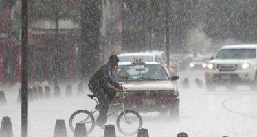 Fuertes lluvias se registraron en varios puntos de la CDMX
