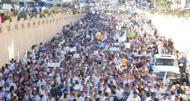 Marchan más de 30 mil personas en Saltillo pidiendo triunfo de Guillermo Anaya
