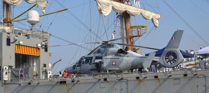 Suspende Semar la búsqueda de la cadete que cayó al mar en proximidades de la India