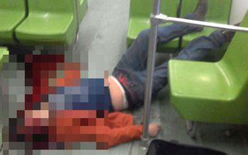 Joven muere luego de golpearse por asomarse en ventana del Metro