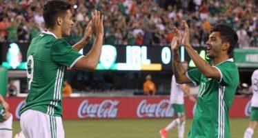 Selección mexicana vence 3-1 a Irlanda