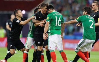 México remonta marcador para vencer 2-1 a Nueva Zelanda