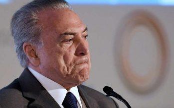 Primer juez, de siete, propone anular mandato de Michel Temer en Brasil