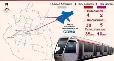 Tren exprés irá de Metro Observatorio al Aeropuerto: director del Metro