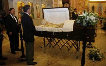 Celebran misa de cuerpo presente para despedir al arzobispo ortodoxo Antonio Chedraoui