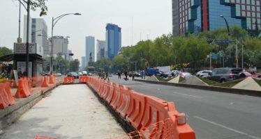 Continuarán obras de Línea 7 de Metrobús: Guillermo Calderón