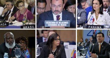 Comité de la OEA rechaza resolución de Venezuela sobre Ayotzinapa