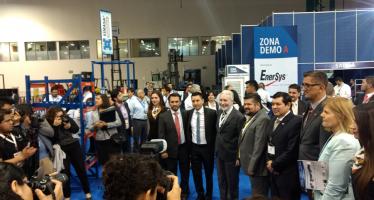 Funcionarios inauguran CWA Expo Carga e Intra Logistics 2017
