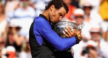 Rafael Nadal gana su décimo título en el Roland Garros