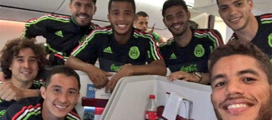 Selección de México llega a Rusia para disputar la Copa Confederaciones
