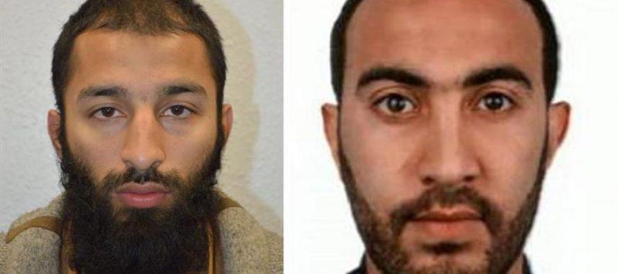 Identifican a dos de los tres terroristas que atacaron cerca del Puente de Londres