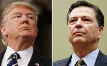 Piden a Trump que testifique ante el Senado sobre lo dicho a Comey o que muestre cintas