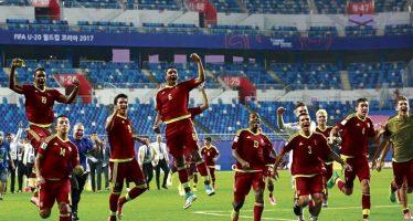 Venezuela gana a Uruguay y llega a la final del Mundial Sub-20; enfrentará a Inglaterra