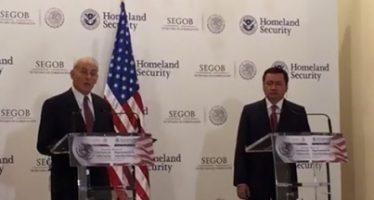 México refrenda voluntad de diálogo y cooperación con EEUU
