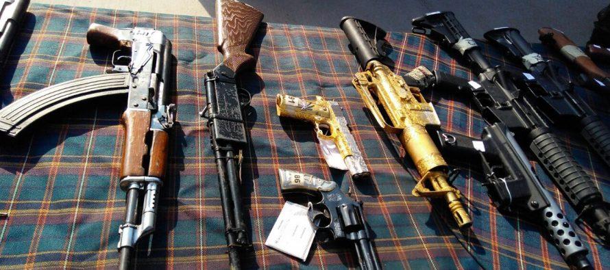 Destruye la SEDENA más de 4 mil 200 armas
