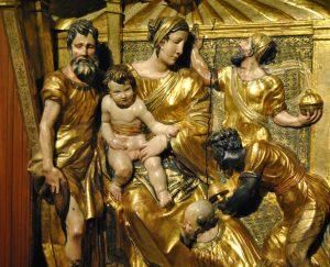 Adoración de los Magos. Obra de Berruguete. Foto Especial
