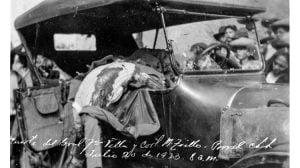 Asesinato de Pancho Villa. Foto Especial