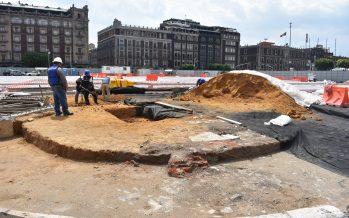 Arqueólogo explica valor histórico de basamento original