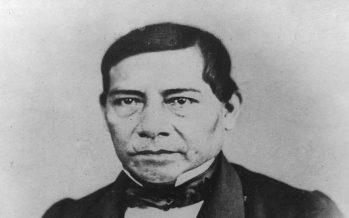 Vigente, el ejemplo de Benito Juárez