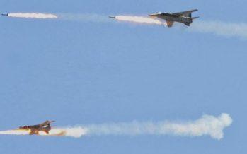 Fuerza Aérea Siria ataca posiciones de Daesh en Raqqa