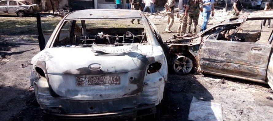Auto bomba causa muertes y lesionados, en Damasco
