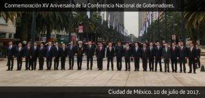 Foto oficial del 15° aniversario de la CONAGO. Foto: CONAGO
