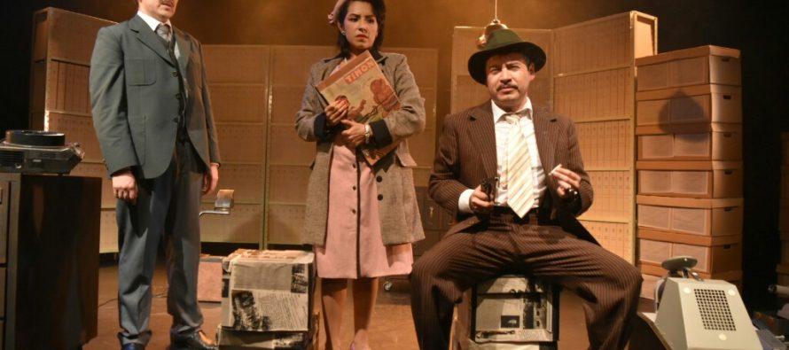Puesta en escena galardonada con el premio Bellas Artes de dramaturgia 2016, con dramaturgia y dirección de Martín López Brie