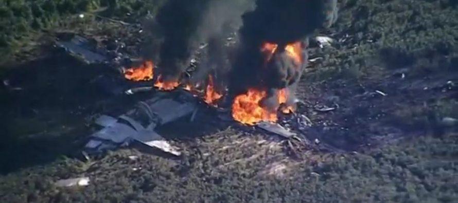 Se desploma avión militar en Mississippi: 16 muertos
