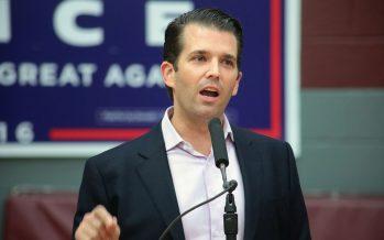 A Trump Jr. le ofrecieron información de Hillary Clinton