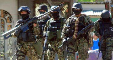Marina abate a cinco guardias del 'Bukanas', en Puebla