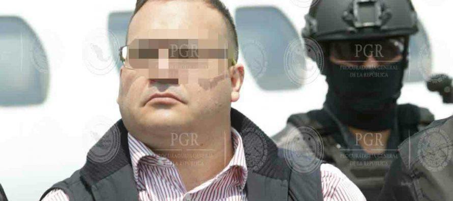 Javier Duarte es trasladado al Reclusorio Norte