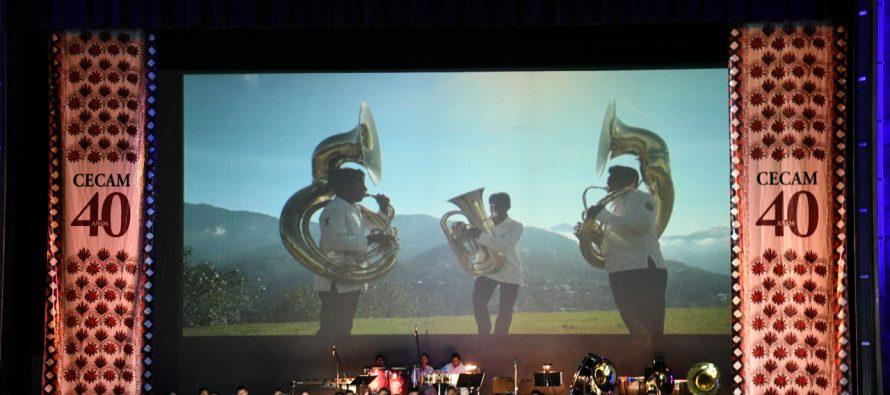 Noche de gala en Bellas Artes por 40 aniversario de filarmónica del Cecam